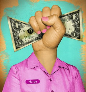 The language of pink collared jobs