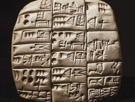 Cuneiform and counting